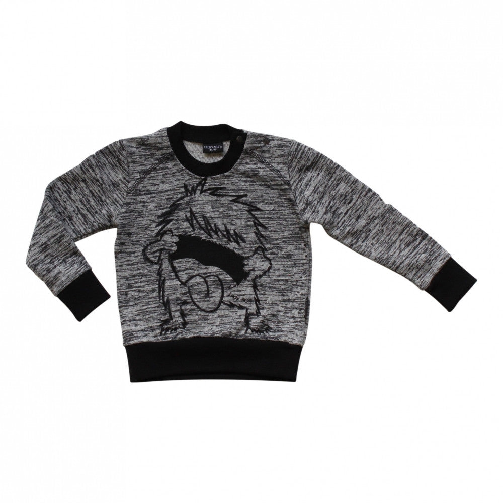 Lucky No. 7 Rebellious Monster Sweater