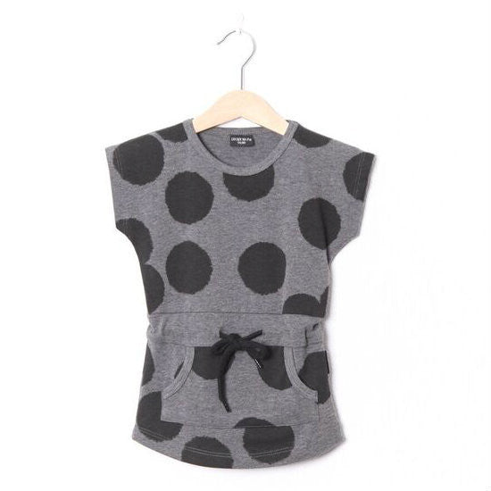 Lucky No. 7 Dot Dress