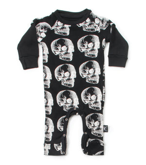 Nununu X-Ray Skull Playsuit