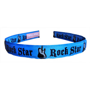 Oscar Blue Bright Blue Rock Star Headband