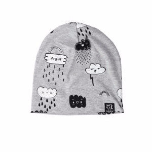 Kukukid Grey Clouds Beanie