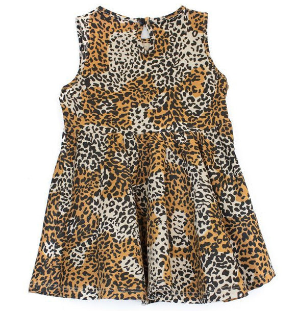 Oh Baby London Leopard Print Skater Dress
