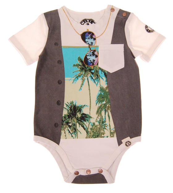 Mini Shatsu Summer Vest Onesie