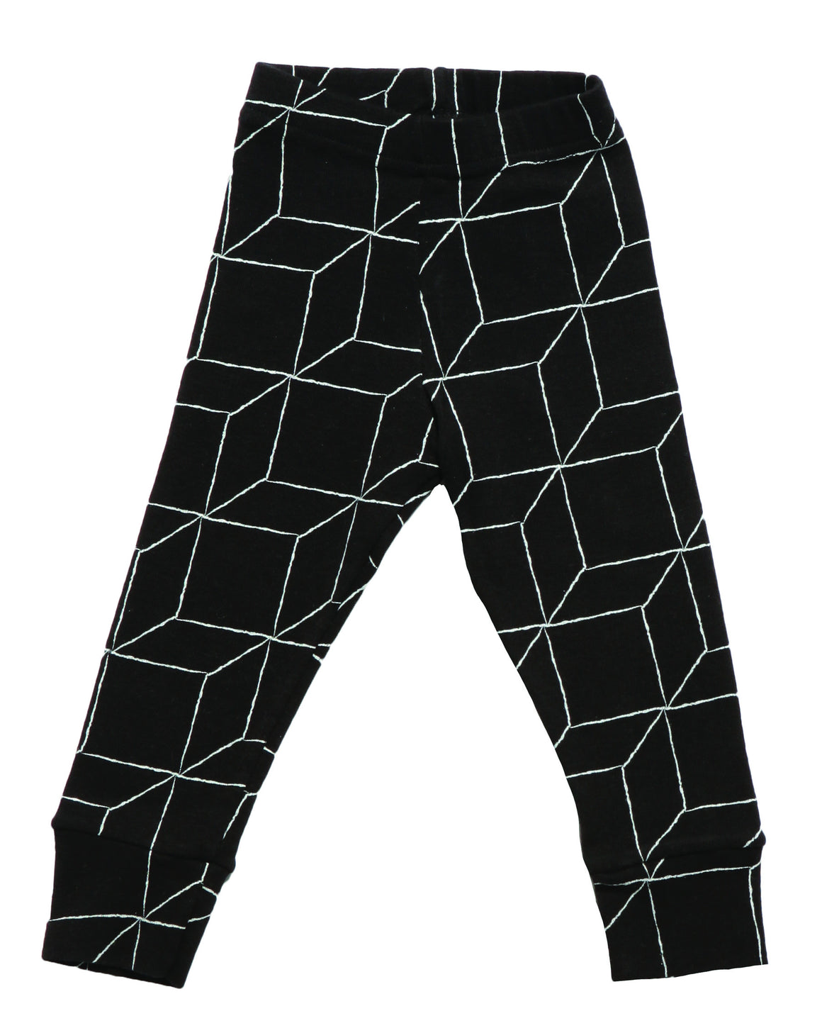 Nununu Black Grid Leggings