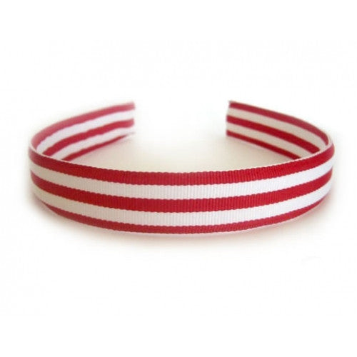 Oscar Blue Red Stripe Headband
