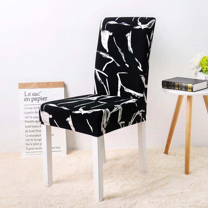 4Pcs Luxury Elastic Chair Slipcover