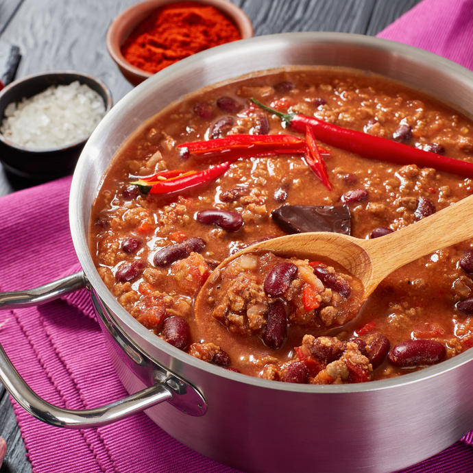 Miranda's Super Bowl Chilli (also perfect for a footy grand final!)