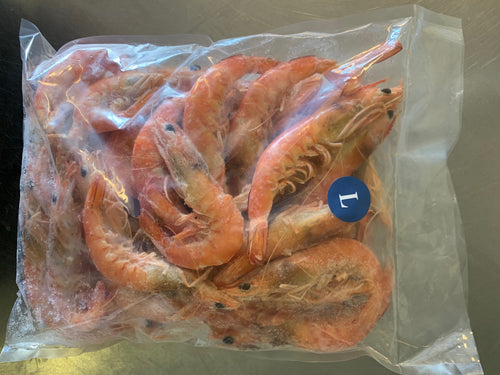 Cooked King Spencer Gulf Prawn - Large (1kg)