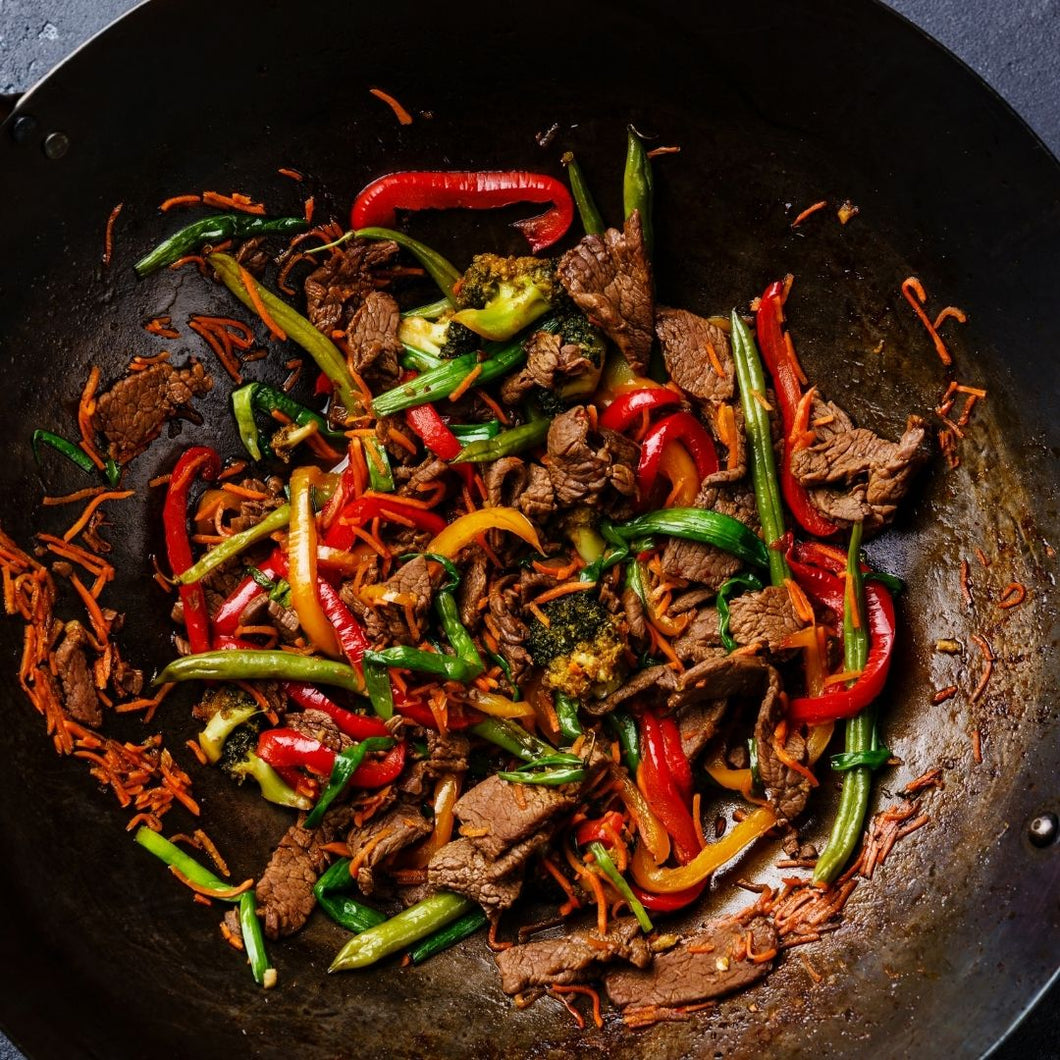 Fast Track Dinner - with 25% OFF 2 x Stir Fry Strips & 2 x Scaloppini
