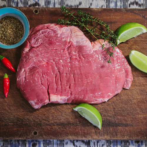 Grass Fed Flank Steak (approx 400g)  15% DISCOUNT