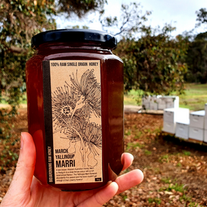 Bidjaronning Raw Honey - Marri (1kg)