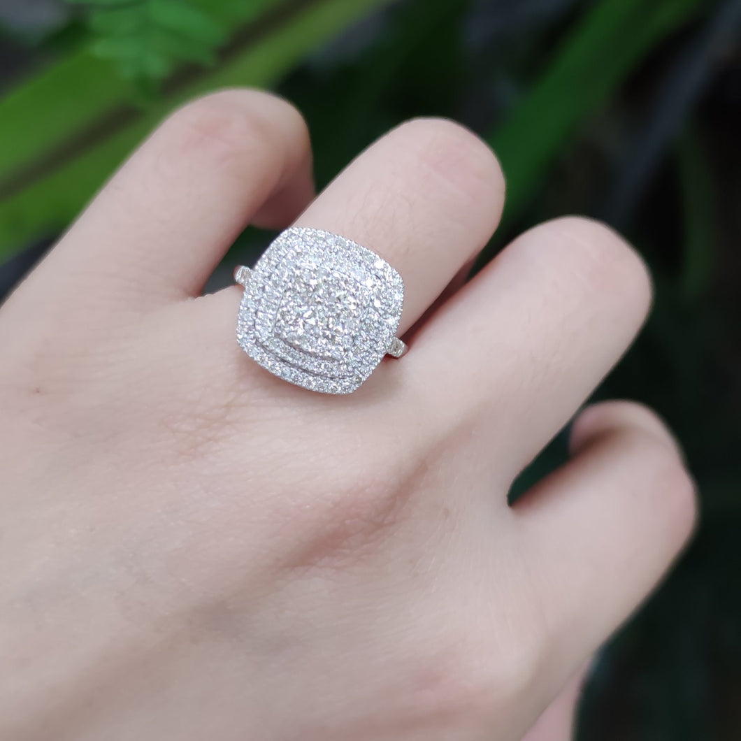 20 TABLE DIAMOND RING