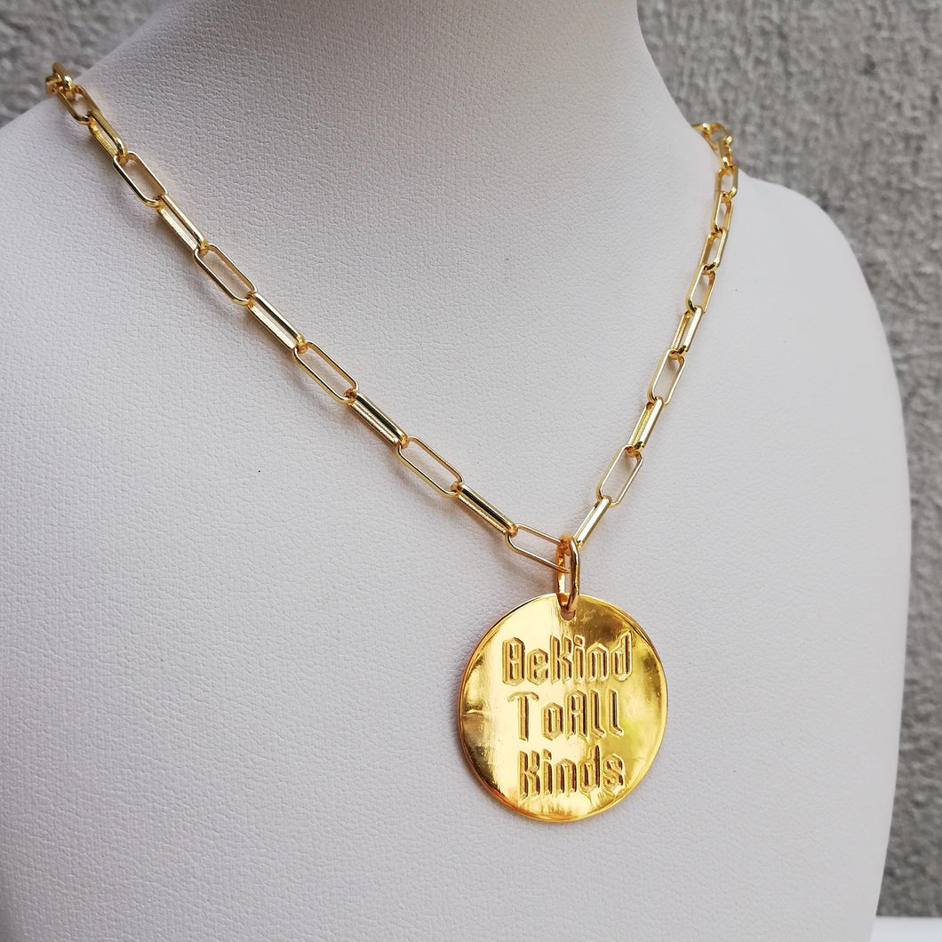 BE KIND TO ALL KINDS: KAREN NECKLACE