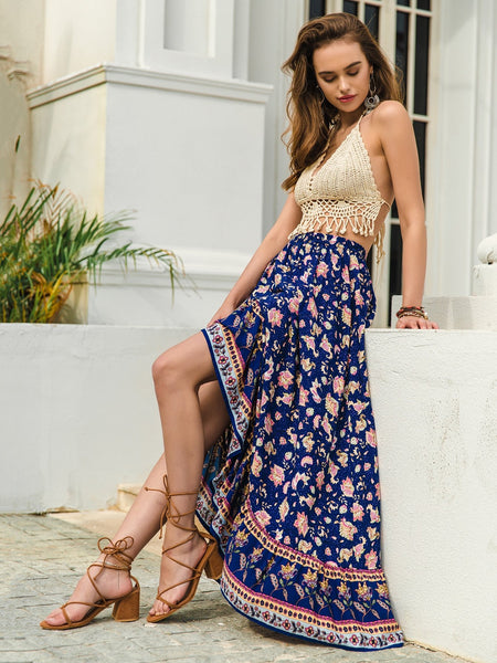 ADELINA Maxi Skirt-Skirt- Boheme Junction