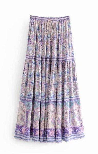 AMETHYST Maxi Skirt - ONE LEFT!-Skirts- Boheme Junction