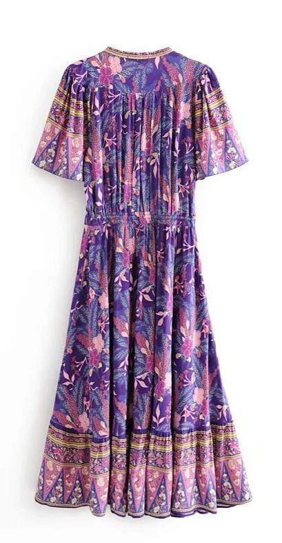 ARIBA Maxi Dress-Dress- Boheme Junction