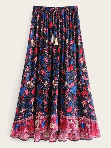 AUBREY Maxi Skirt-Skirts- Boheme Junction