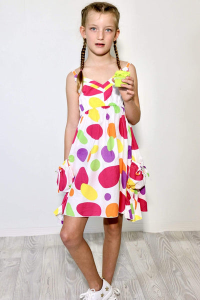 BRIGHT SPOT Sundress-Dress- Boheme Junction