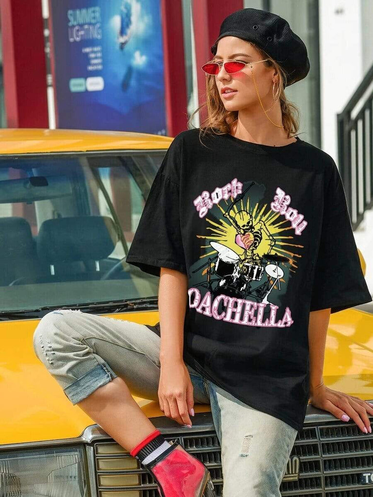 COACHELLA Tshirt-Top- Boheme Junction
