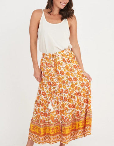 EVANGALINE Maxi Skirt-Dress- Boheme Junction