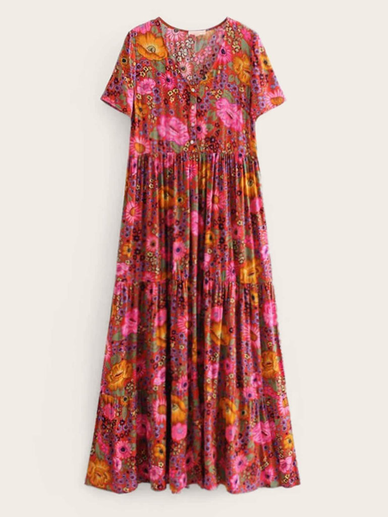 GEMMA Maxi Dress-Dress- Boheme Junction