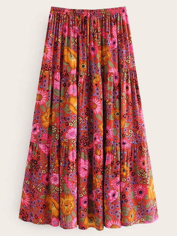 GEMMA Maxi Skirt-Skirts- Boheme Junction