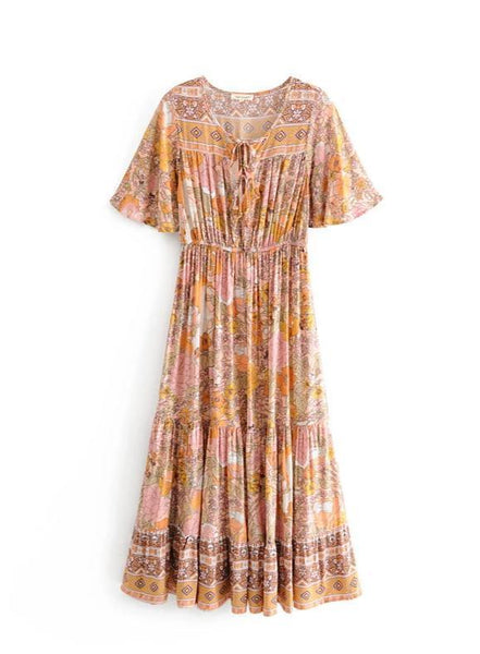 KAHULA Midi Dress-Dress- Boheme Junction