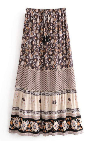 KATANA Maxi Skirt-Skirts- Boheme Junction