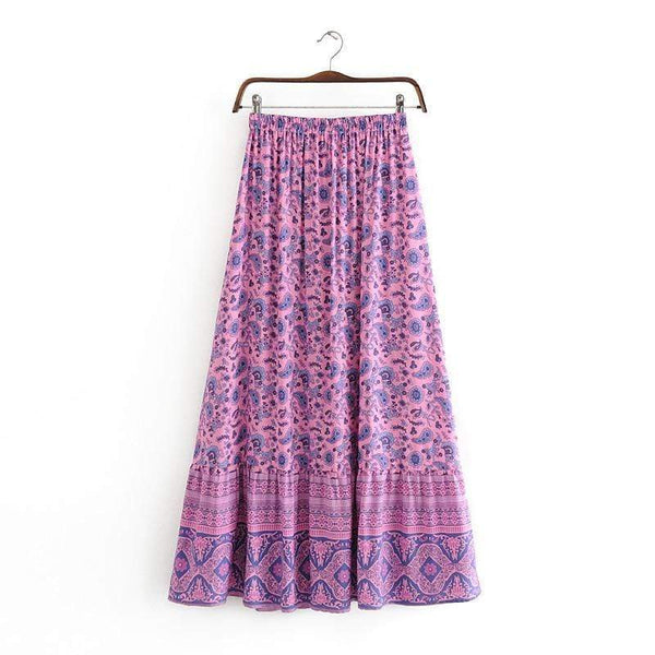 LEILANI Maxi Skirt | ONE LEFT!-Skirts- Boheme Junction