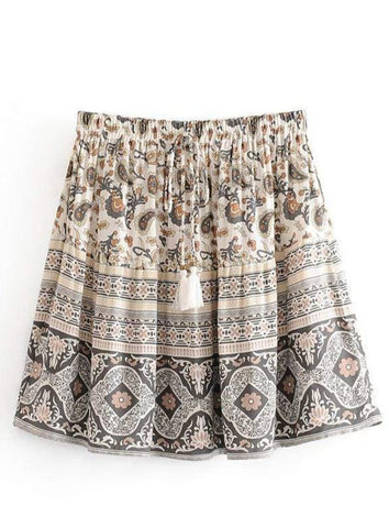 LEILANI Mini Skirt-Skirts- Boheme Junction