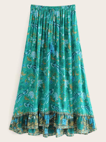 LIGHTHOUSE Maxi Skirt-Skirts- Boheme Junction