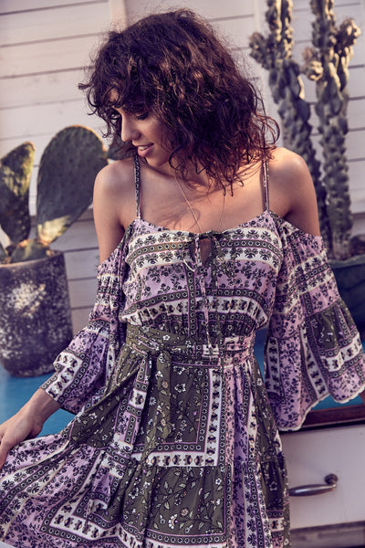 MANZANA Simone Mini Dress-Dress- Boheme Junction