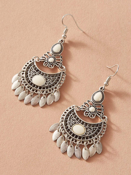 PALOMA Tassel Drop Earrings-Earrings- Boheme Junction