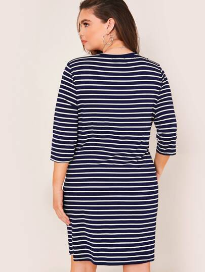 PLUS SIZE Aida Mini Dress-Dress- Boheme Junction