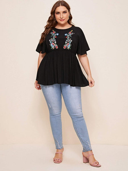 PLUS SIZE Brynlee Top-Top- Boheme Junction