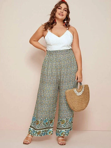 PLUS SIZE Ellie Pants-Pants- Boheme Junction