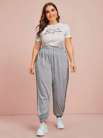 PLUS SIZE Ryder Lounge Pants-Pants- Boheme Junction