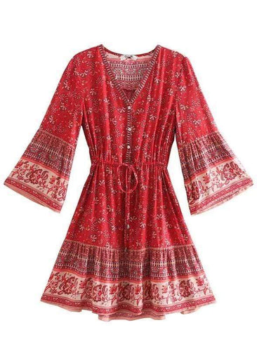 PROVENCE Mini Dress | LAST ONE!-Dress- Boheme Junction