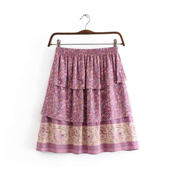 SASHA Mini Skirt-Skirts- Boheme Junction