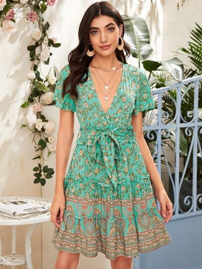 SECRETS Mini Dress- Boheme Junction