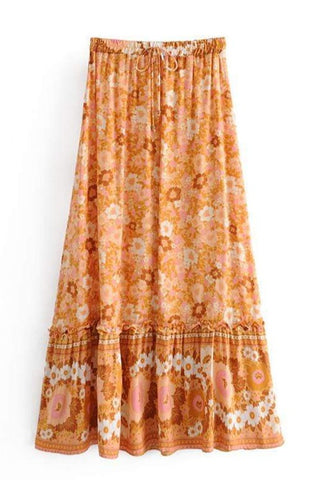 SHANI Maxi Skirt-Skirts- Boheme Junction