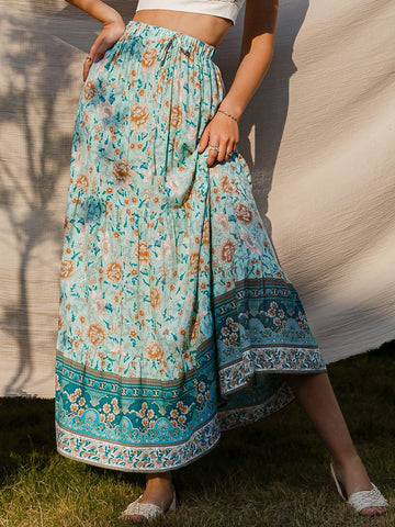 SIRENA Maxi Skirt-Skirt- Boheme Junction