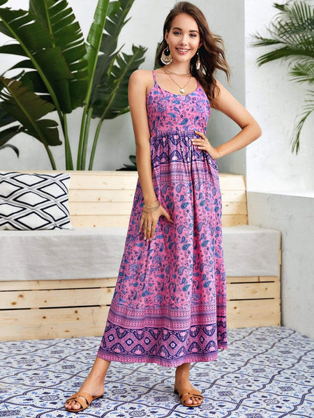 ST TROPEZ Maxi Dress-Dress- Boheme Junction