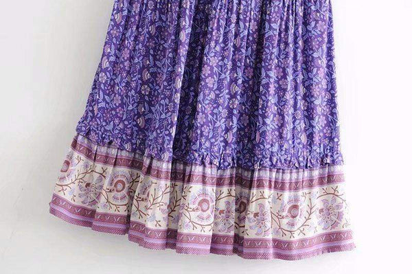 SYMPHONY Maxi Skirt | ONE LEFT!-Skirts- Boheme Junction