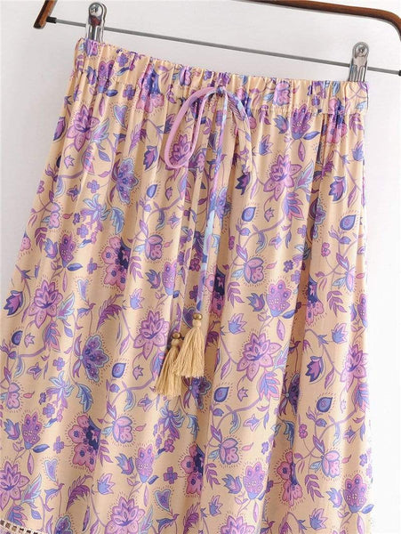 TALLULAH Maxi Skirt-Skirts- Boheme Junction