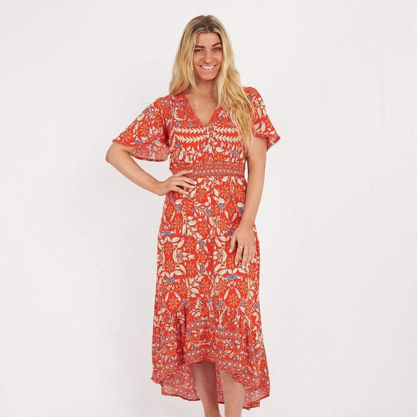 WHIMSICAL Maxi Dress-Dress- Boheme Junction