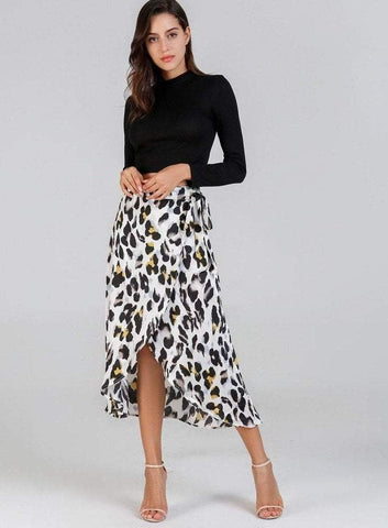 WILD Midi Skirt - ONE LEFT!-Skirts- Boheme Junction