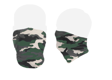Camouflage Pattern Face Covering