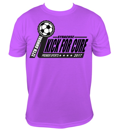 KICK FOR CURE T-SHIRT