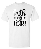 Faith Over Fear Arrow